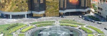 The Sands Macao –  A Representative Hotel Front Door Fountain